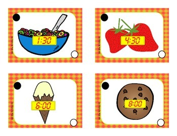 Lesson plan Hour and nutrition month theme lunch time pack