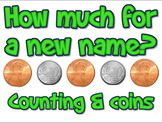 Lesson plan: How Much for a New Name  (money)