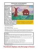 """Lesson plan.  Mingling with Monet:  A Study of """"Tulips in Holland"""""""