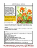 """Lesson plan.  Painting with van Gogh:  A Study of """"Irises"""""""