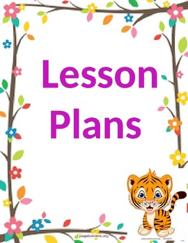 Lesson plan binder covers [editable]