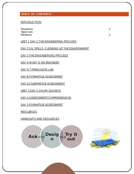 Lesson plan on Engineering/ Curricula de Ingeniera
