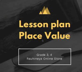 Lesson plan place value