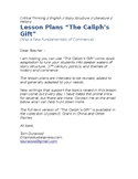 "Lesson plans ""The Caliph's Gift"""