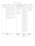 Lesson plans and materials to teach main idea