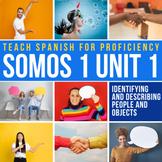 Spanish 1 Storytelling Unit 01: Dice