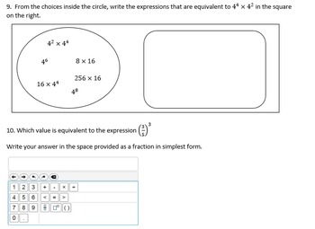 Lesson1 Powers and Order of Operations PPT, Notes, Practice BUNDLE