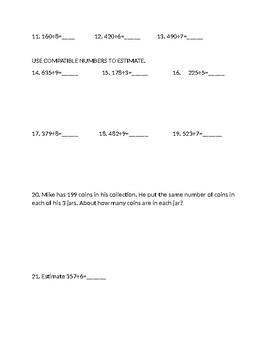Lessons 4.1-4.6 Chapter Review Go Math