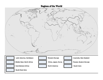Lessons/Activities on Artifacts, World Regions and Society