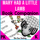 Book Companion Mary Had a Little Lamb Activities PK-K