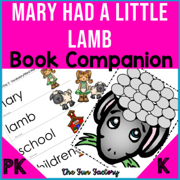 "Mary Had a Little Lamb (PK-K) Common Core~""Lessons For"""