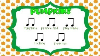 Fall Music Activities (Fall Music Lesson Plans BUNDLED-K-5th Grades)