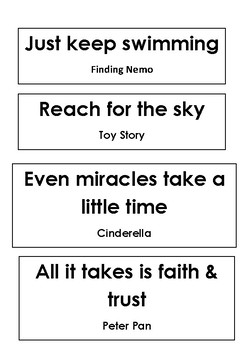 Lessons From Disney