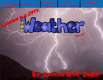 Lessons In a Jiffy: Weather (Shared/Guided Reading, Scienc