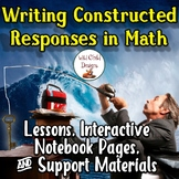 Lessons & Support Materials for Writing Constructed Math R