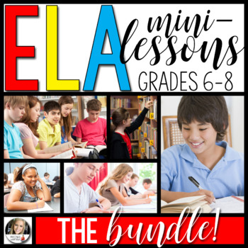 Writing Mini-Lessons: The Bundle!