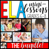 ELA Mini-Lessons: The Bundle! (Digital and Printable)