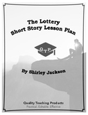 Lessons: The Lottery by Shirley Jackson Lesson Plan, Worksheets, Key