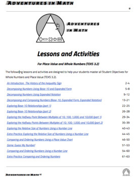 Third Grade Fractions Lessons and Activities (TEKS 3.3)
