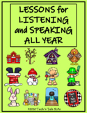Lessons for Listening and Speaking All Year
