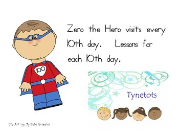 Lessons for Zero the Hero  Every tenth day