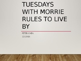 Lessons from Tuesdays with Morrie