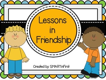 Lessons in Friendship Activity Packet