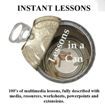 Lessons in a Can - Hundreds of lessons, printables, media and more...