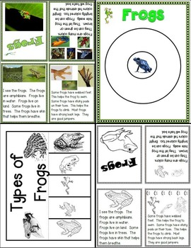 Lessons in a Jiffy: Frogs (Guided/Shared Reading, Research and More!)