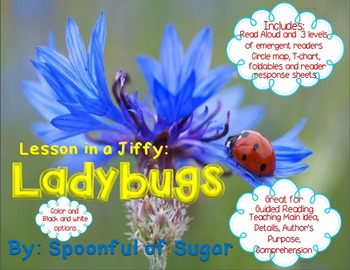 Lessons in a Jiffy: Ladybugs (Guided/Shared Reading Books
