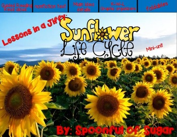Lessons in a Jiffy: Sunflowers (Guided/Shared Reading and Research)