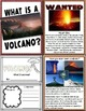 Lessons in a Jiffy: Volcanoes (Guided readers, foldables, research)