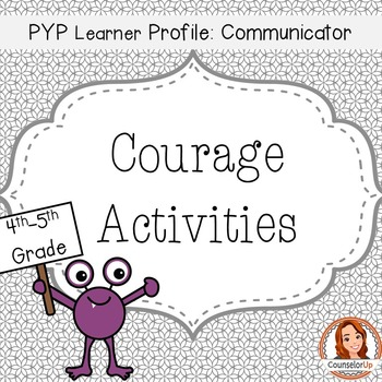Character Ed Lessons on Courage for Grades 3-5