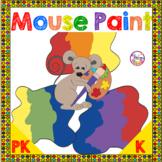 Mouse Paint Activities Book Companion