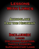 Lessons w/ Lyrics: Audioslave - I am the Highway - Metapho