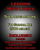 Lessons w/ Lyrics: Gonna Be (500 Miles) by the Proclaimers