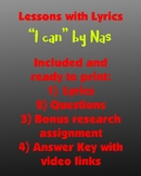 Lessons w/ Lyrics: I can by Nas (includes bonus research a