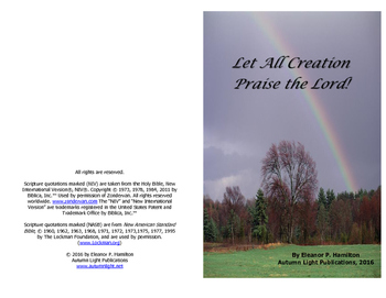 Let All Creation Praise the Lord