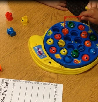 Let' Go Fishing Sight Word Game