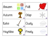 Let It Fall: A book companion for attributes and compare/contrast