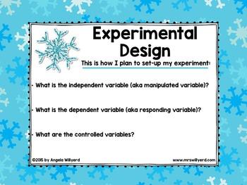 Winter Science Lab: Let It Grow! Snowflake Science Activity -  SMART- Grades 5-8