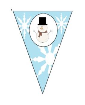 """Let It Snow"" Banner"
