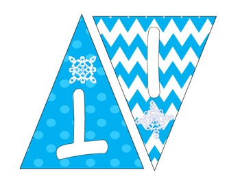 Let It Snow Banner / Bunting
