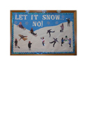 Let It Snow Bulletin Board