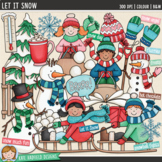 "Winter Clip Art: ""Let it Snow"""