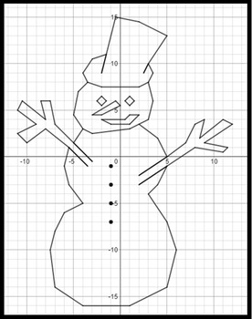Let It Snow, Man! - A Math-Then-Graph Activity - Evaluating Polynomials