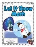 Let It Snow - Math Problem Solving – 3rd Grade (Winter, Christmas, Holidays)