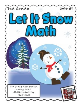 Let It Snow - Math Problem Solving – 3rd Grade (Winter, Ch