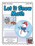 Let It Snow - Math Problem Solving – 5th Grade (Winter, Christmas, Holidays)