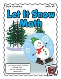 Let It Snow - Math Problem Solving – 2nd Grade (Winter, Christmas, Holidays)